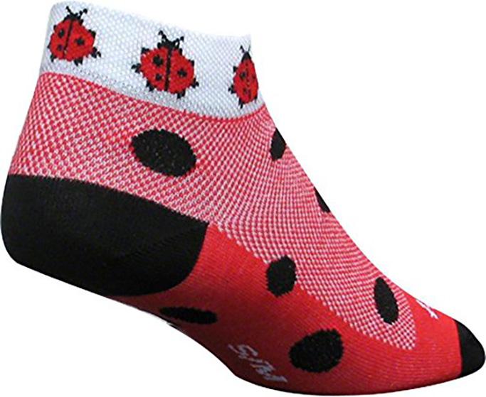 SockGuy Bees Low-Cut Women's Cycling Socks