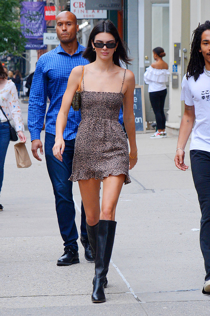 Kendall Jenner Stuart Weitzman Boots