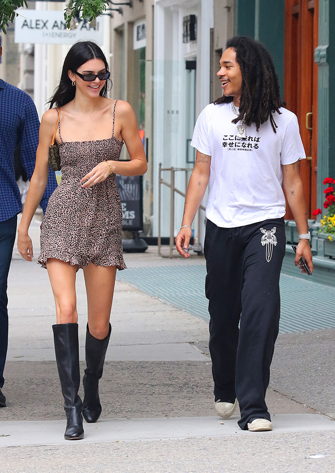 Luka Sabbat and Kendall Jenner
