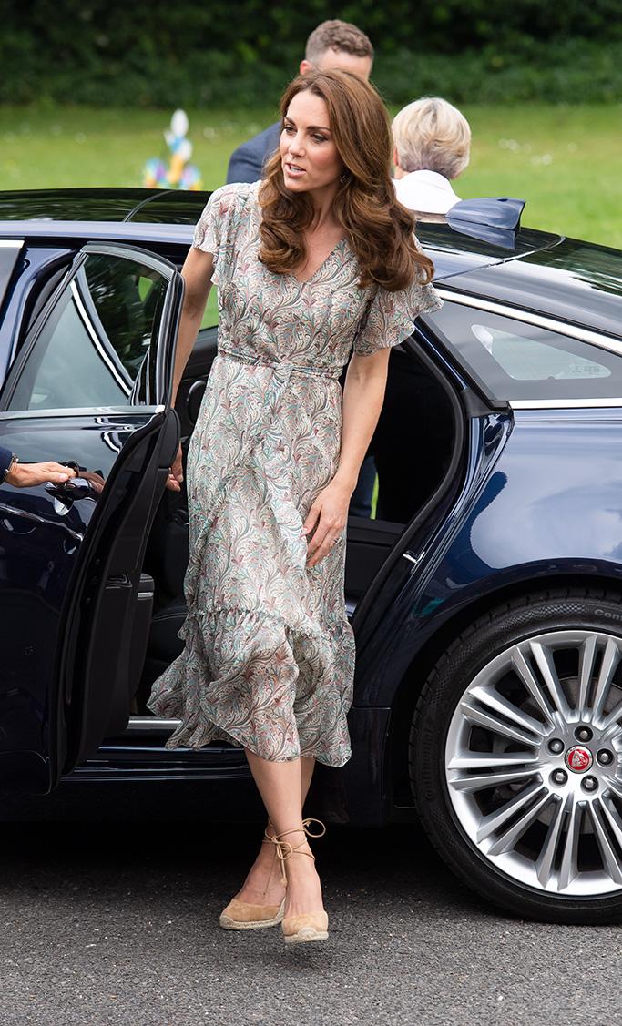 Kate Middleton, Castaner Carina Espadrilles