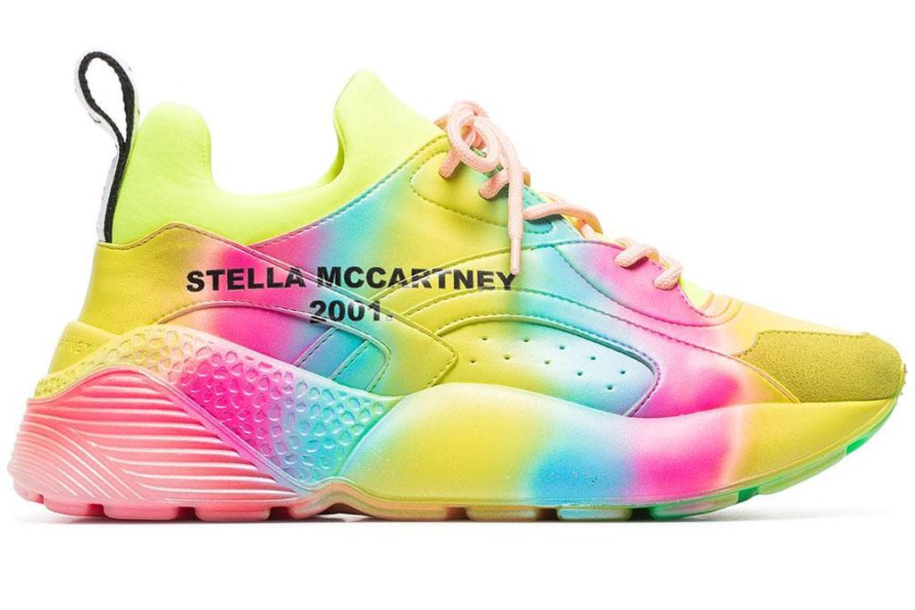 Taylor Swift, stella mccartney Eclypse rainbow sneakers