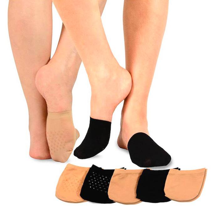 TeeHee Seamless Toe Topper, best no show socks