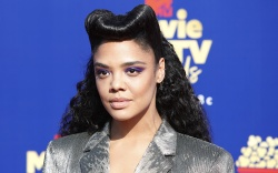 Tessa Thompson arrives for the 2019