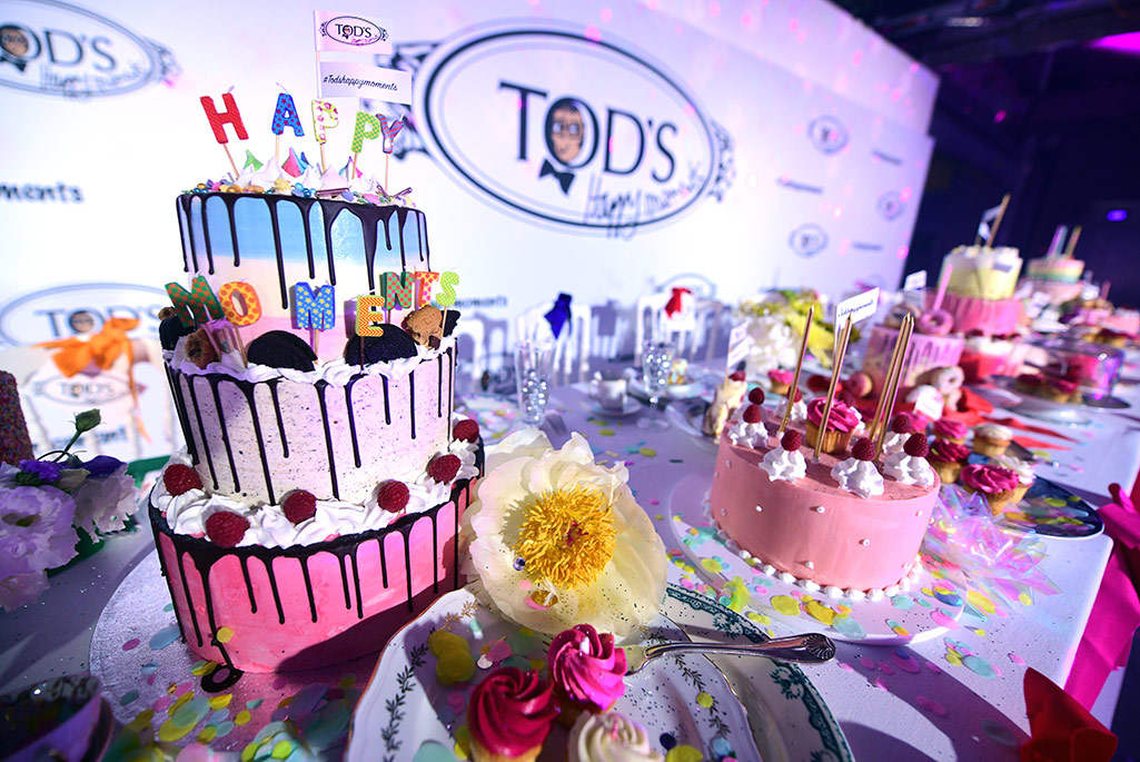 Tod's Happy Moments party.