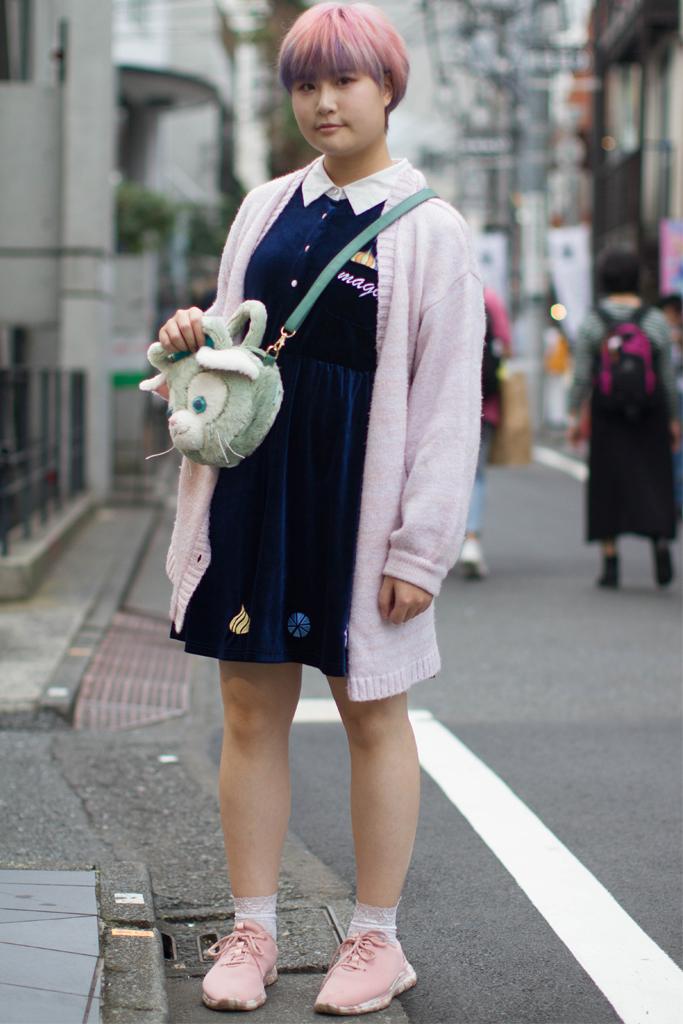 Street style Tokyo Fashion Week Spring 2019