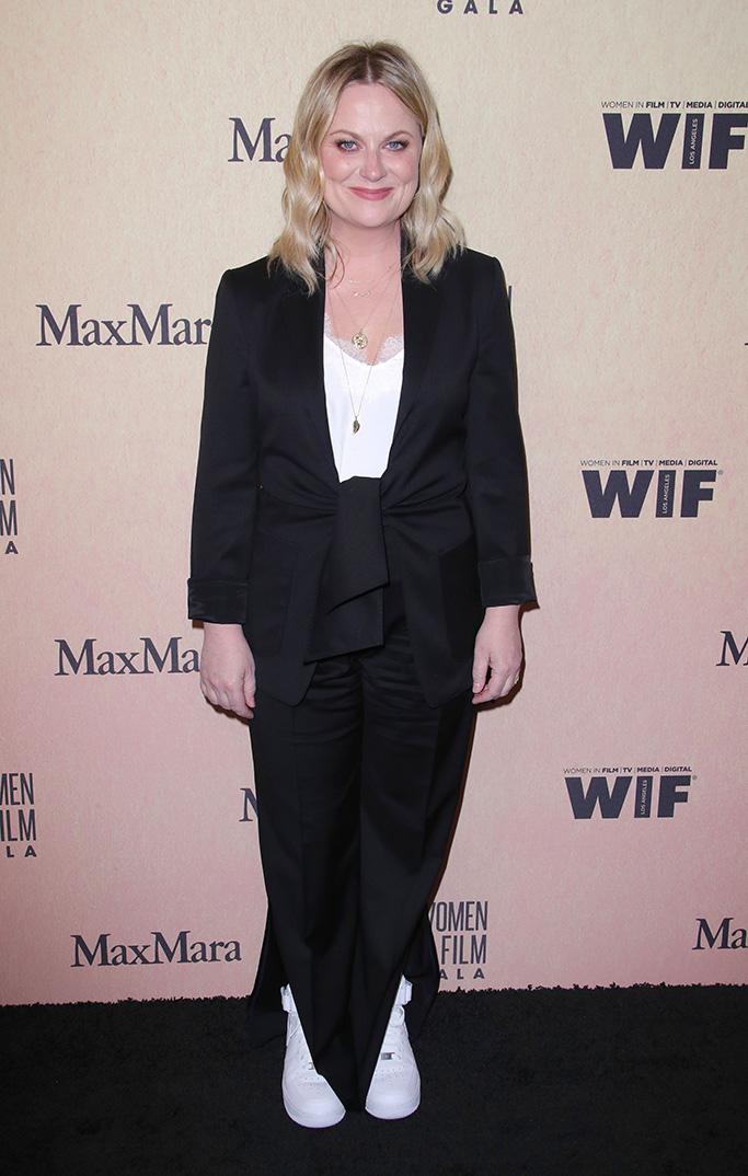Amy Poehler, Women In Film Gala, Arrivals, Beverly Hilton, Los Angeles, USA - 12 Jun 2019