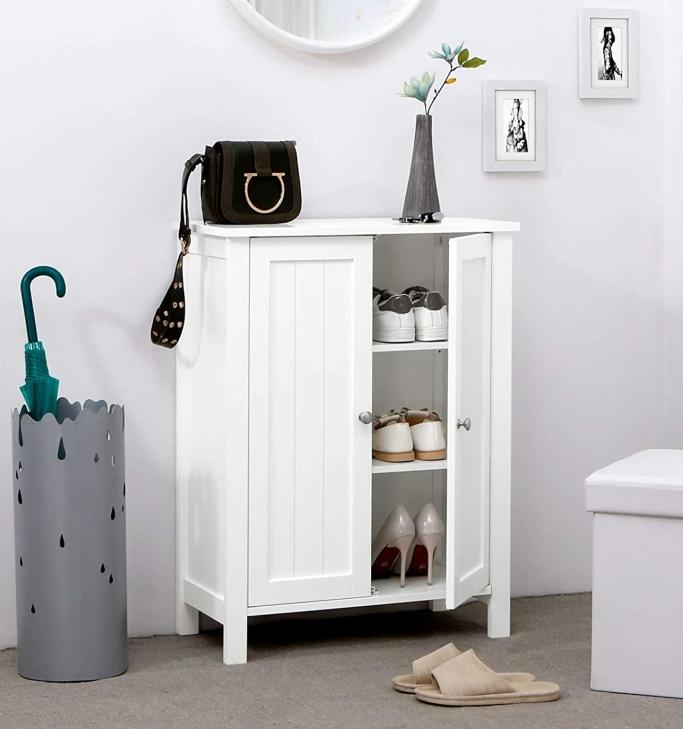 Vasagle Storage Cabinet, shoe storage cabinet
