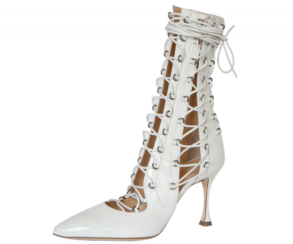 Liudmila lace-up boots