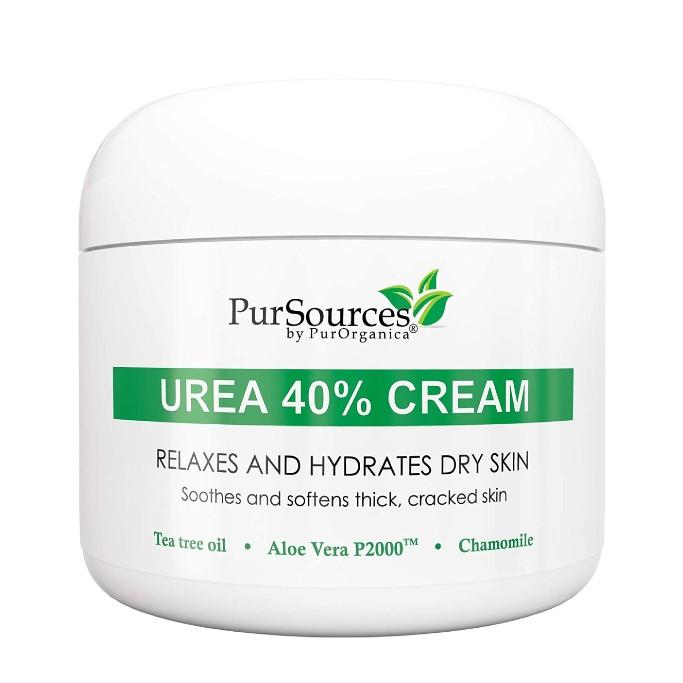 PurOrganica Urea 40% Foot Cream, best callus removers