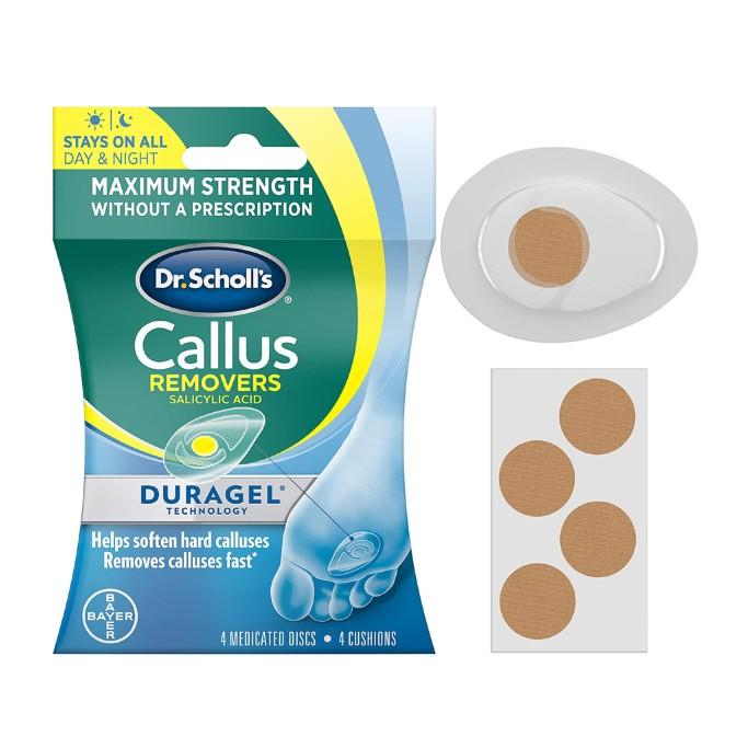 Dr. Scholl's Duragel Callus Removers, best callus removers
