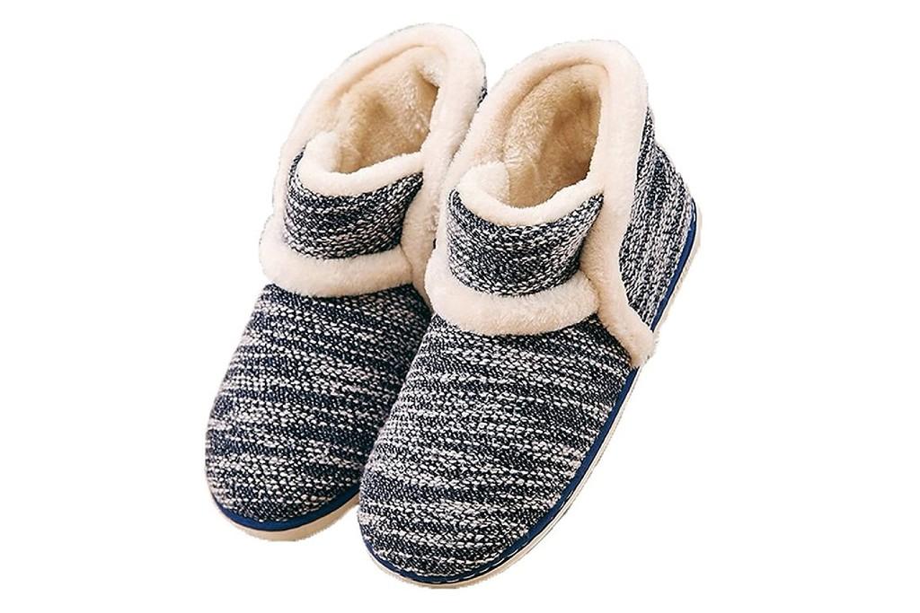 GaraTia Winter Vintage Boot slipper, women's slippers