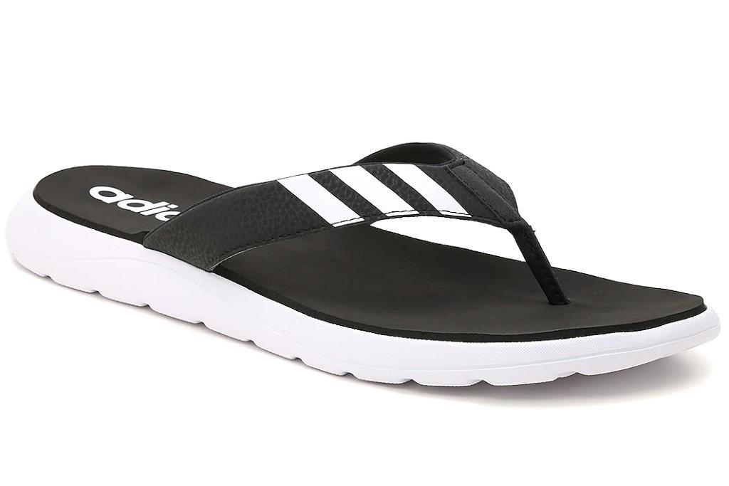 adidas comfort flip flops, men's flip flops