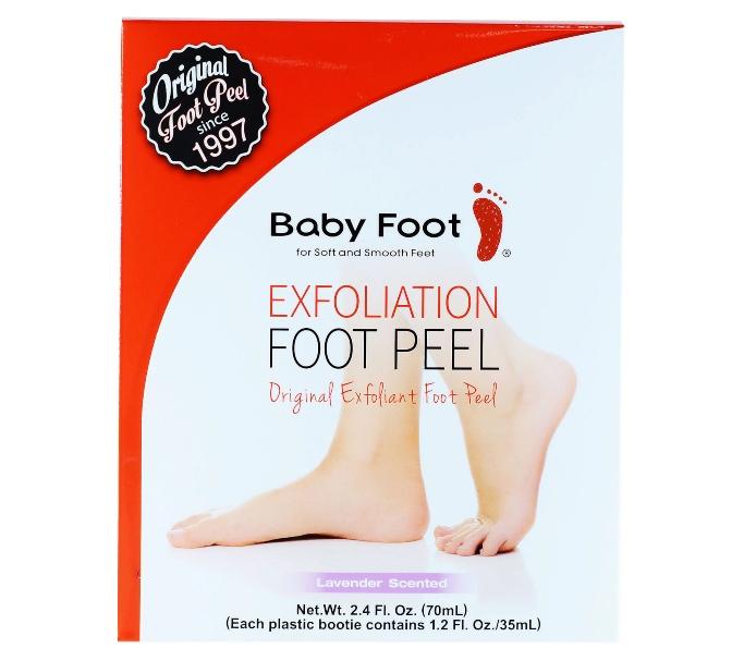 baby foot exfoliation peel, foot exfoliators