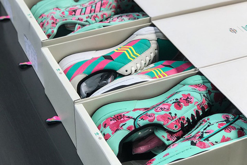 Adidas x arizona iced tea sneaker