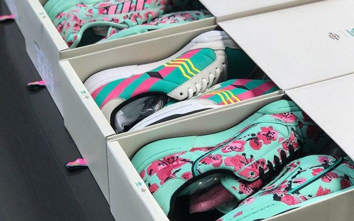 Adidas x arizona iced tea sneaker