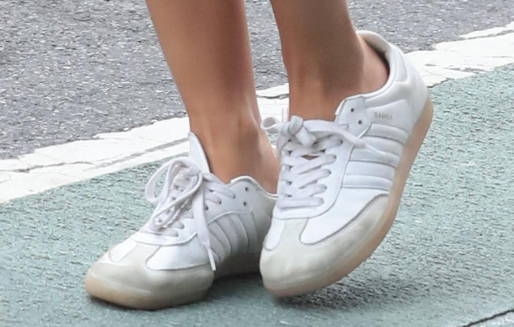 Adidas Samba Sneakers, Emily Ratajkowski