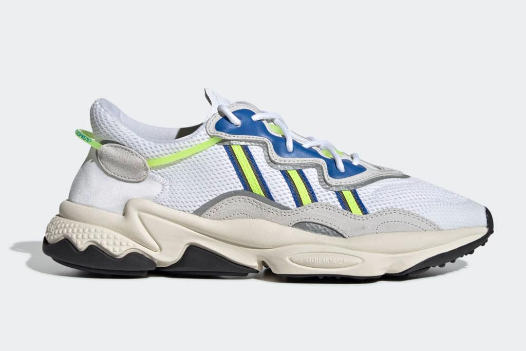 Adidas Ozweego sneakers.