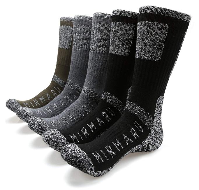 MIRMARU men's hiking socks