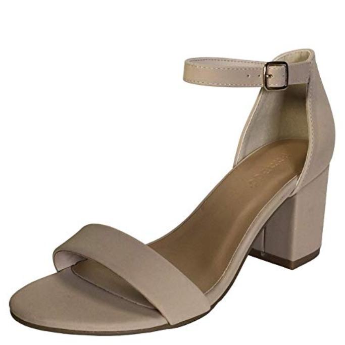 Bamboo Women's Block-Heel Sandal