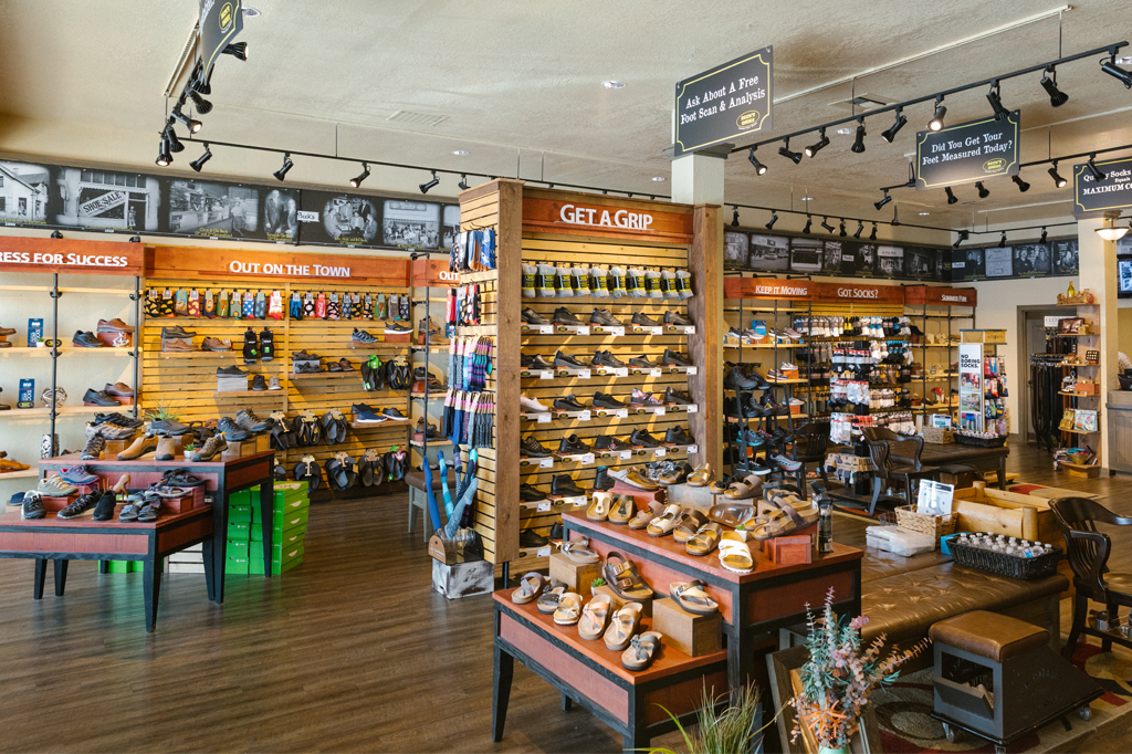 Beck's Shoes Store California