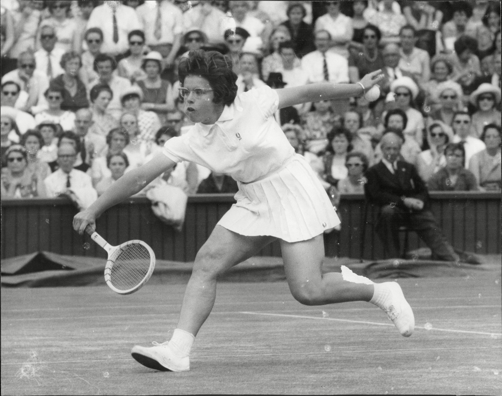billie jean king, wimbledon 1963