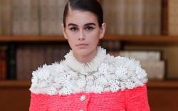 Chanel Kaia Gerber, Haute Couture, fall