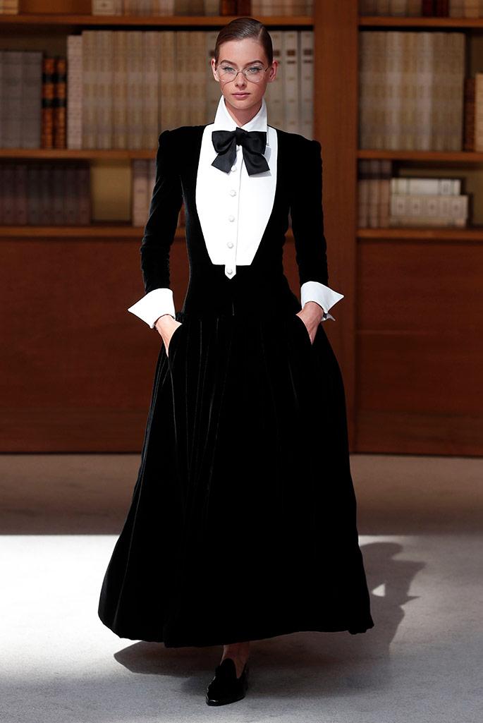 Chanel Haute Couture, fall 2019.