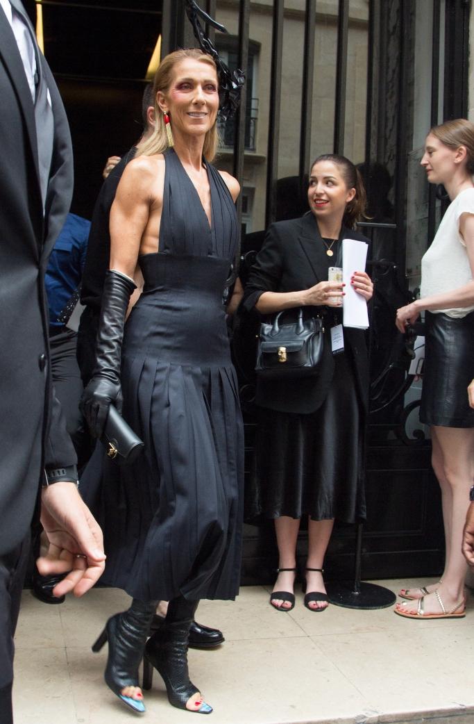 celine dion, Schiaparelli, haute couture fashion week