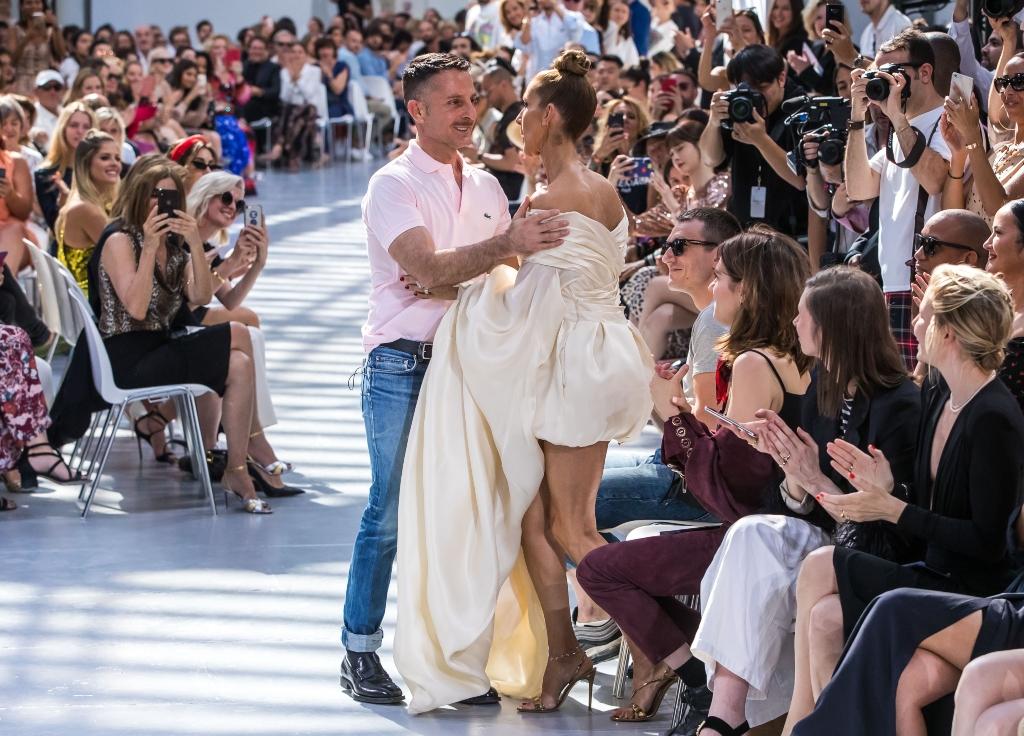 celine dion, Alexandre Vauthier, haute couture fashion week