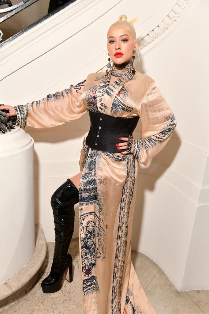 jean-Paul Gaultier, Christina Aguilera