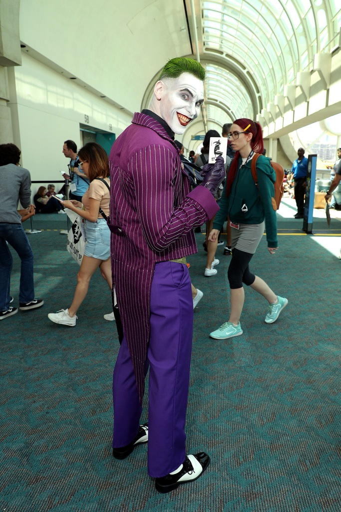 the joker, CosplayerComic-Con International, Atmosphere, Day 1, San Diego, USA - 18 Jul 2019