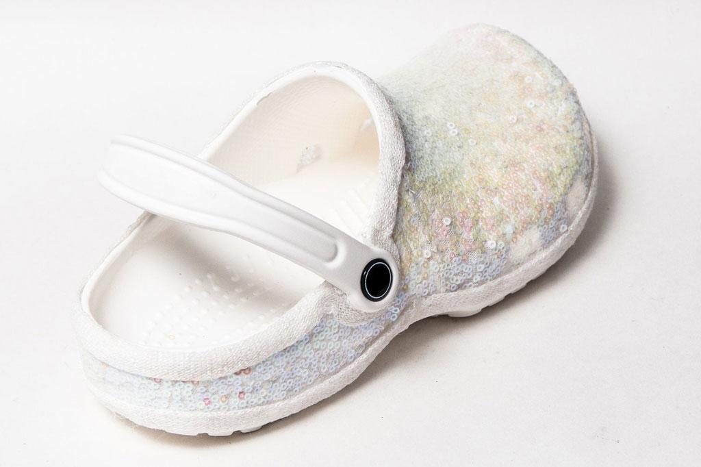 Crocs bridal clogs