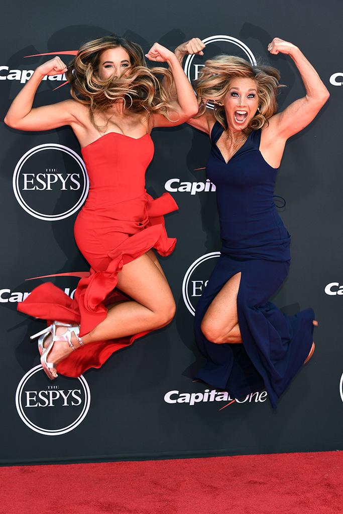 Katie Austin and Denise Austin ESPY Awards, Arrivals, Microsoft Theater, Los Angeles, USA - 10 Jul 2019