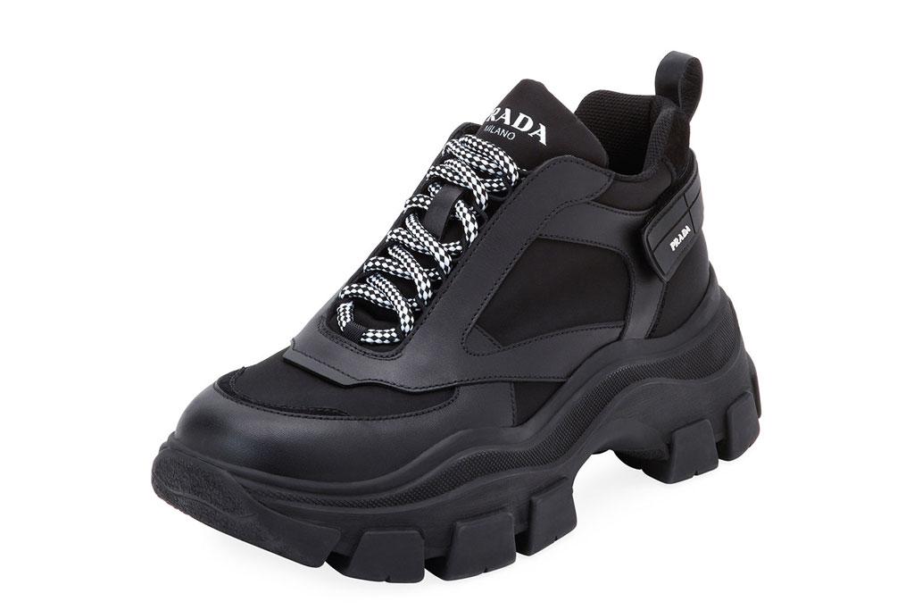 Prada's Pegasus sneakers.