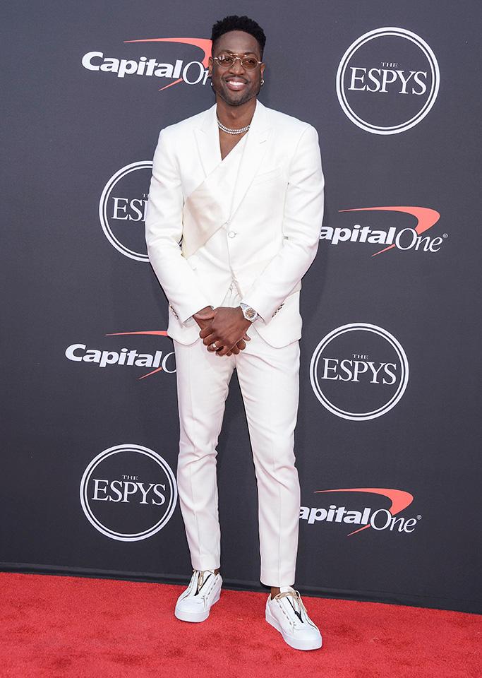 Dwyane Wade, ESPY Awards, Arrivals, Microsoft Theater, Los Angeles, USA - 10 Jul 2019