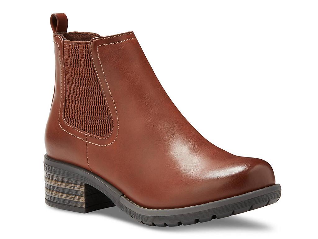eastland shoes, womens jasmine chelsea boots, usa made shoes