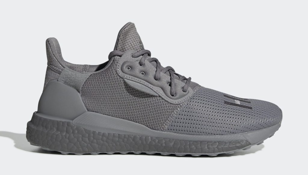 Adidas Pharrell Solar Hu Glide Gray