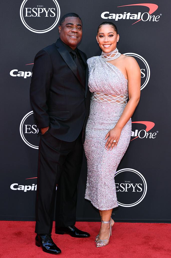 Tracy Morgan and Megan WolloverESPY Awards, Arrivals, Microsoft Theater, Los Angeles, USA - 10 Jul 2019