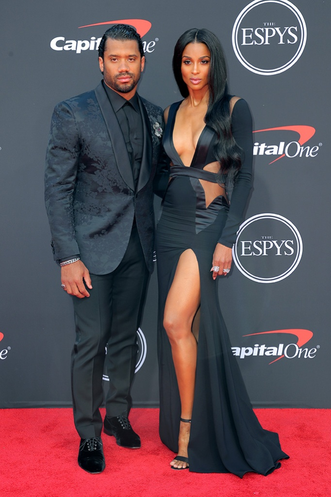 Russell Wilson and CiaraESPY Awards, Arrivals, Microsoft Theater, Los Angeles, USA - 10 Jul 2019