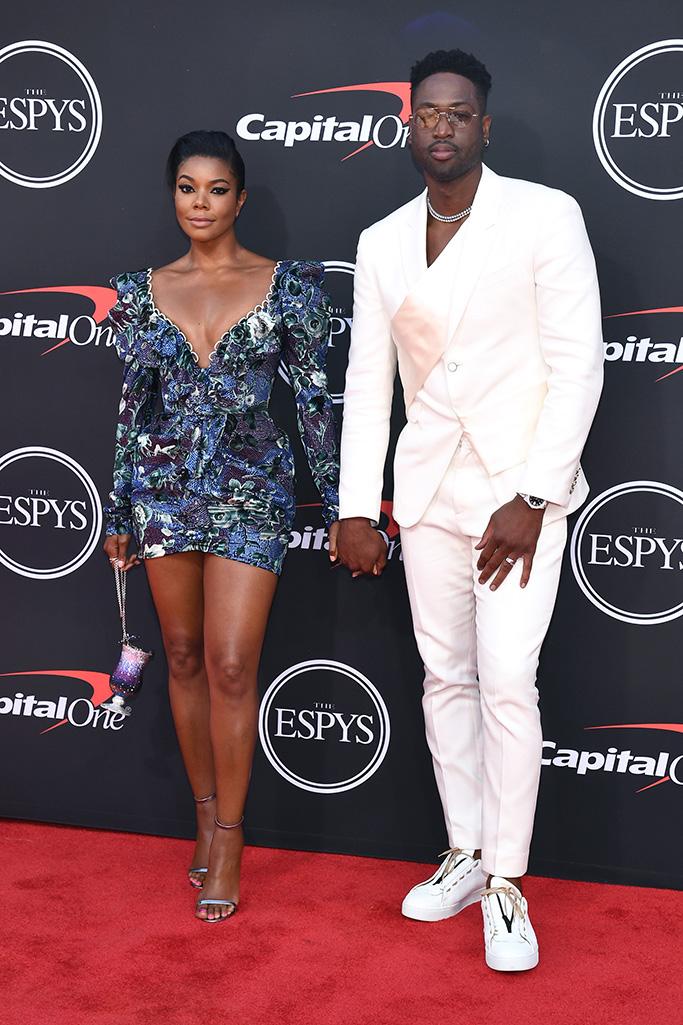 Gabrielle Union and Dwyane WadeESPY Awards, Arrivals, Microsoft Theater, Los Angeles, USA - 10 Jul 2019