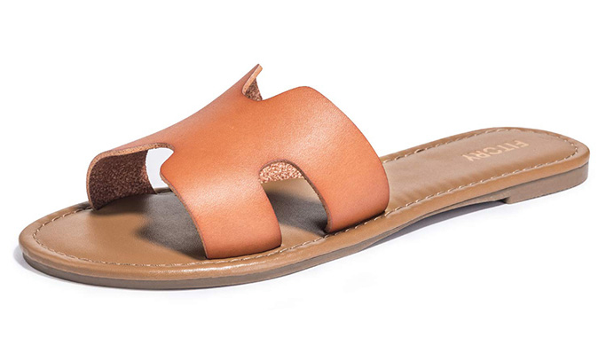 Fitory Flat Sandals amazon slides