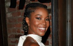 Gabrielle Union, see-through mules, celebrity style,