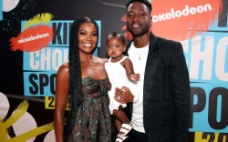 gabrielle union, dwyane wade, kaavia james