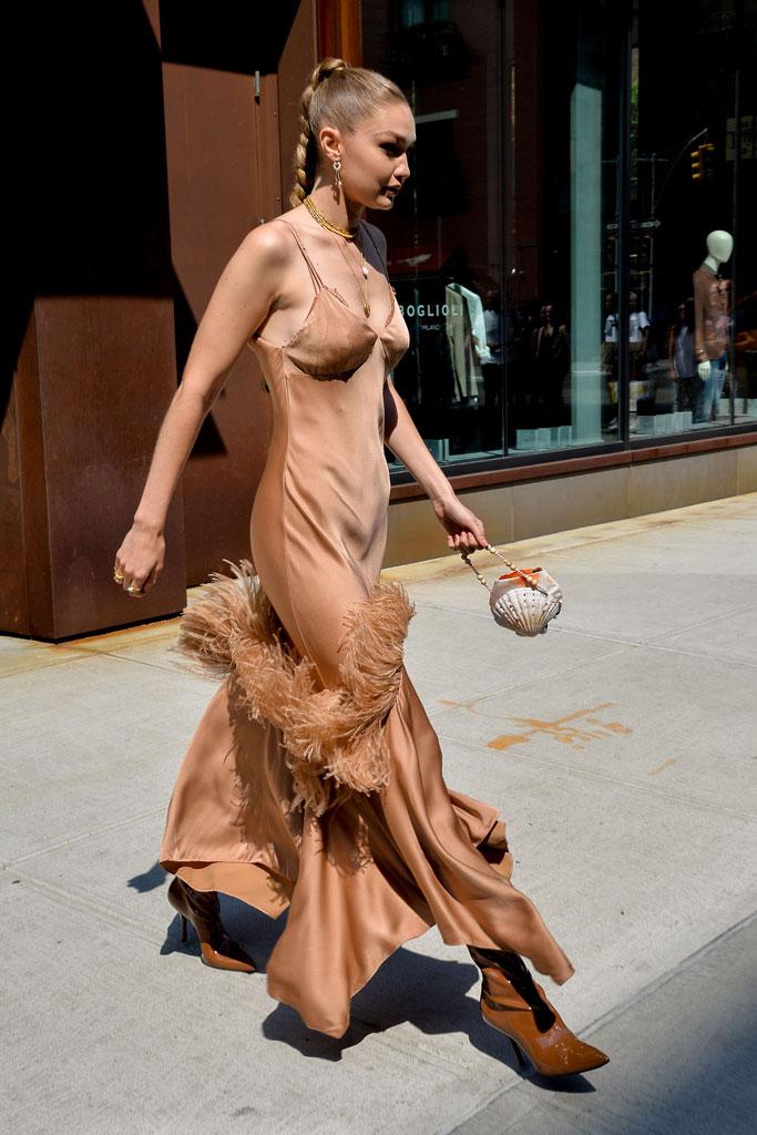Gigi Hadid, Michael Kors, Wonderlust perfume la
