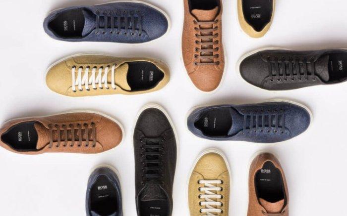 Hugo Boss Vegan Shoes made from Pinatex