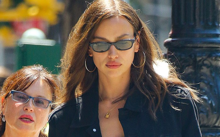 Irina Shayk, NYC, west village