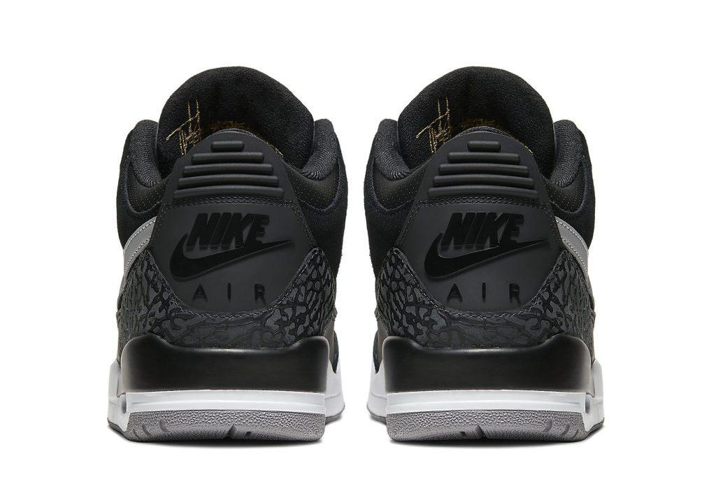 Nike Air Jordan 3 Tinker 'Black Cement'