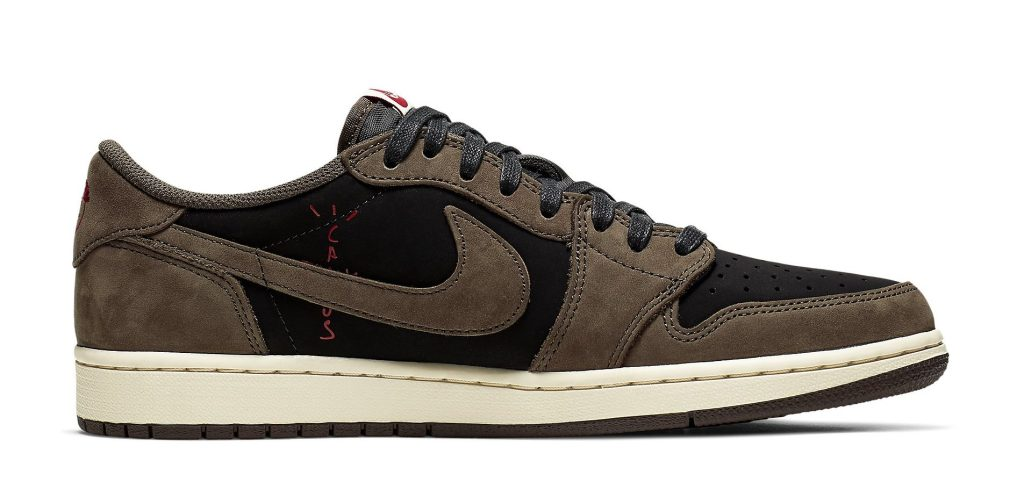 Travis Scott x Air Jordan 1 Low shoes
