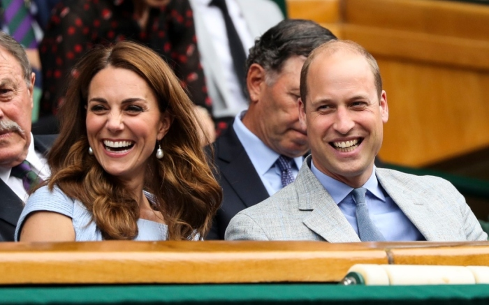 kate middleton and prince william wimbledon men's finals
