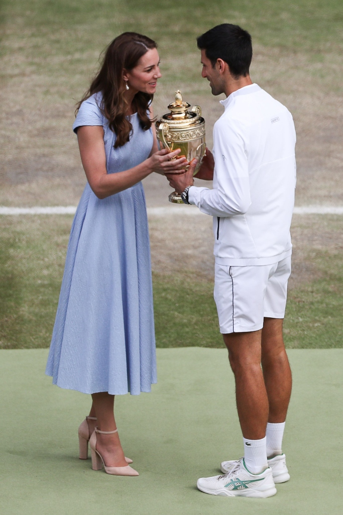 kate middleton, Novak Djokovic, wimbledon men's singles winner